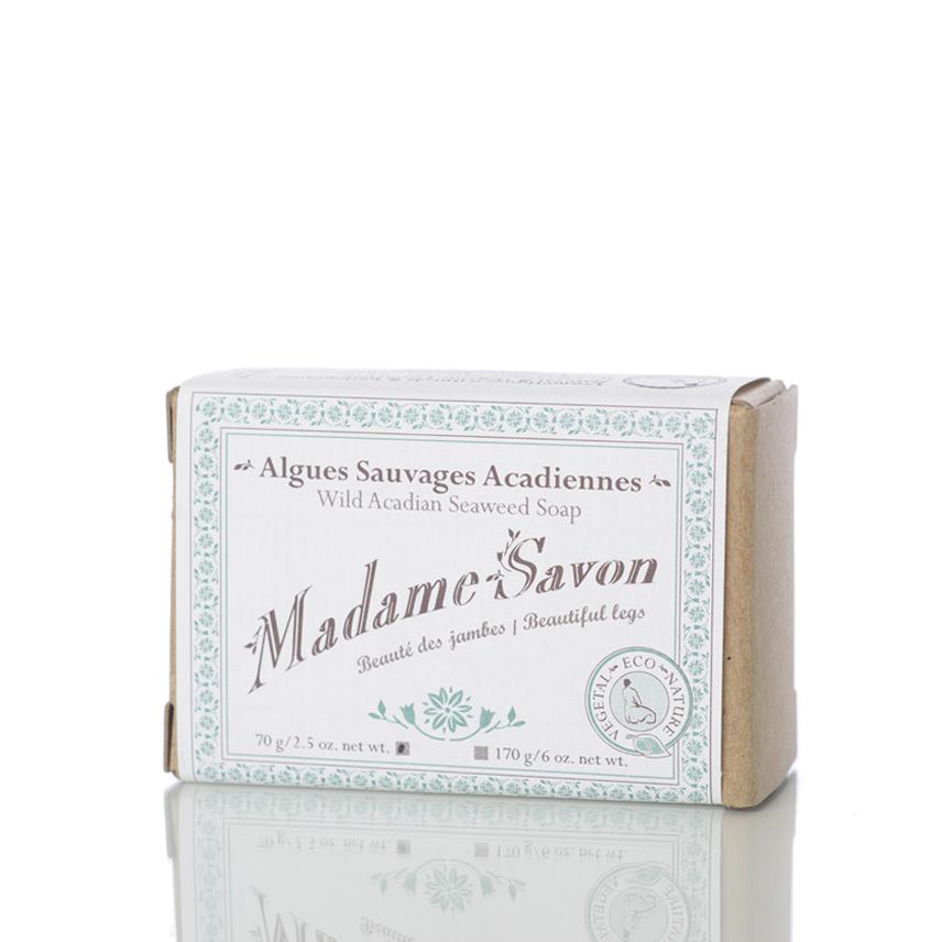 L'Herbier Savon Algues Sauvages Acadiennes 70g